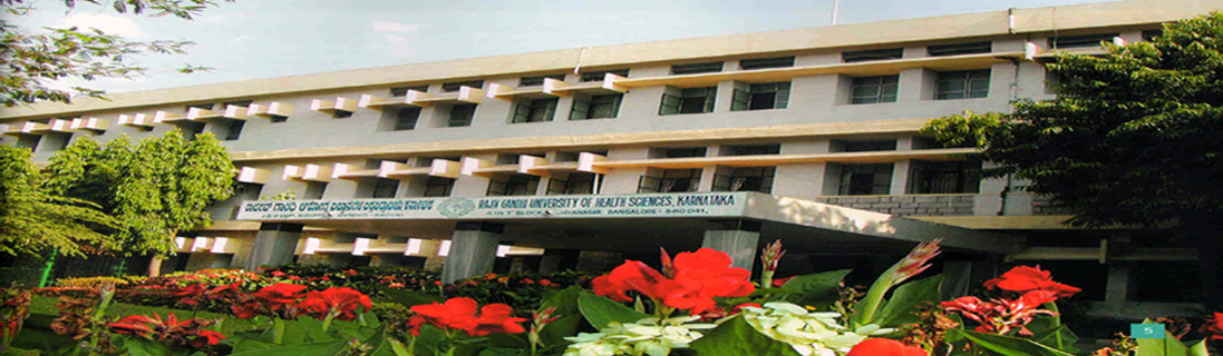 Rajiv gandhi health university thesis