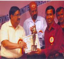 "Awarded with ""The Florence Nightingale Award 2008 for securing State First Rank in B.Sc. Nursing & In Appreciation of Services Rendered in the Field of Nursing"""